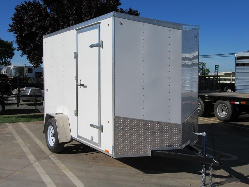 New 2018 Look STCL6x10SI2 6x10 Enclosed Cargo Trailer VIN 17668