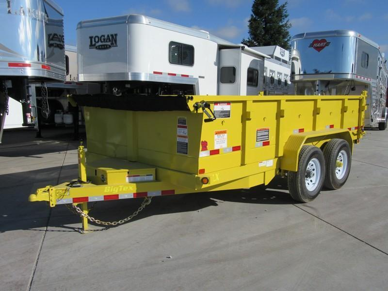 New 2018 Big Tex 14LX-14 7x14 Dump Trailer 14K GVW Vin 93707