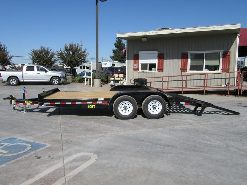New 2018 Big Tex 10ET-16KR Equipment Trailer 7x16 10k GVW VIN:95474