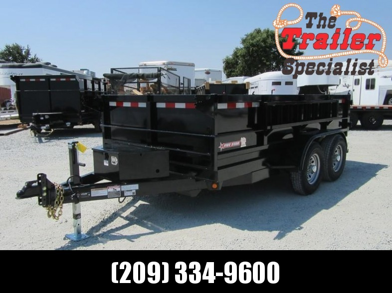 New 2017 Five Star DT261SIR D10 6x12 10K GVW Dump Trailer Vin32847