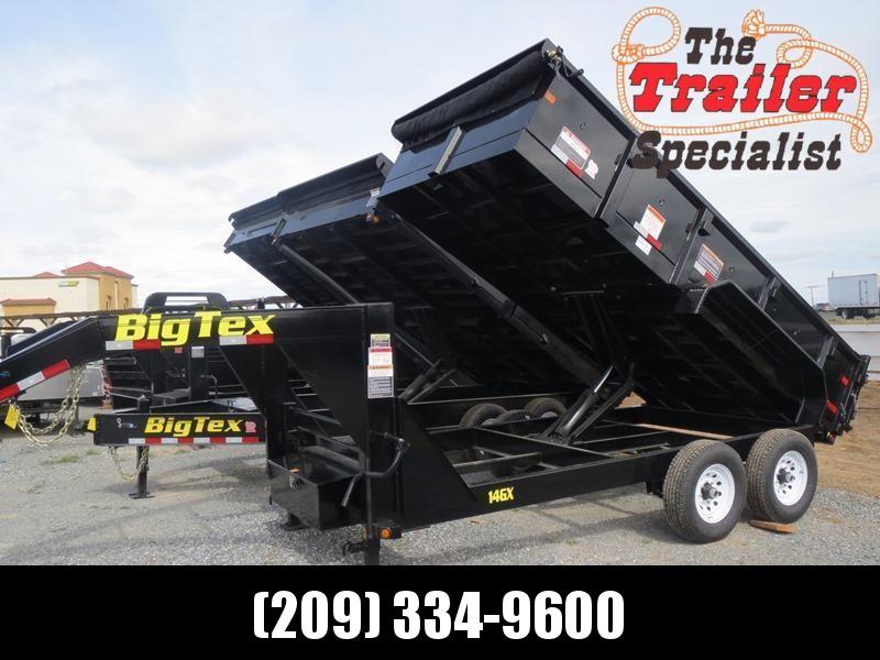 New 2018 Big Tex 14GX-14 Dump Trailer 7X14 14K VIN:99640