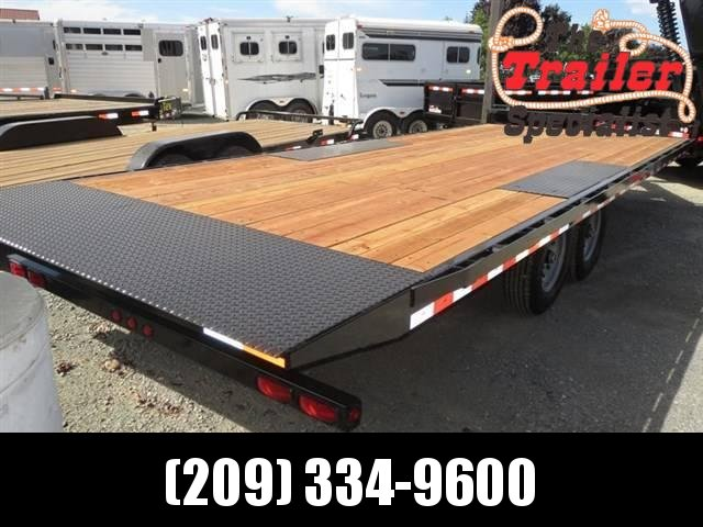 New 2018 Iron Panther ET272 8x22 Equipment Trailer VIN 00890