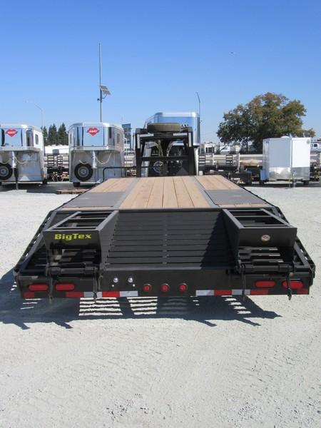 New 2018 Big Tex 20GN-20+5 Equipment Trailer 8.5X20 20K VIN:84379