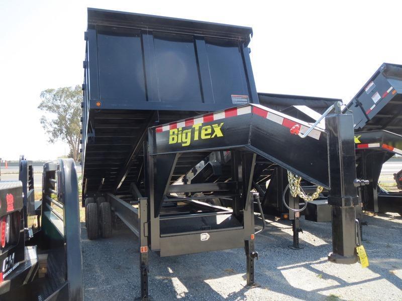 New 2018 Big Tex 25DU-20 8x20 25K GVW Dump Trailer Vin:09170