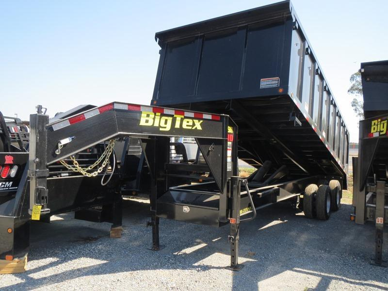 New 2018 Big Tex 25DU-20 8x20 25K GVW Dump Trailer Vin:05711
