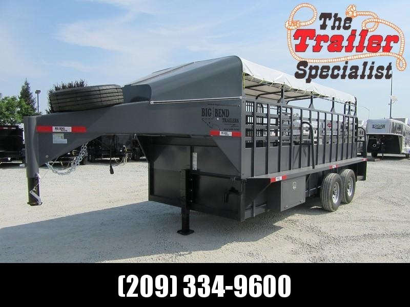 "New 2017 Big Bend 18x68FT 18' x6'8"" Livestock Trailer Vin38330"
