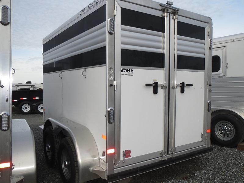 NEW 2015 CM Fastback 2H BP Horse Trailer VIN18771
