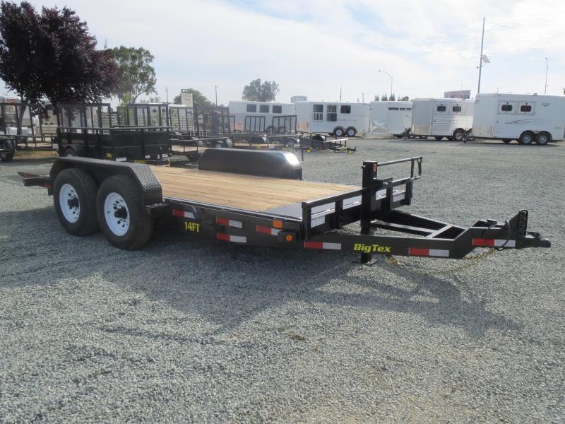 New 2017 Big Tex 14FT-16 Equipment Trailer VIN:62792