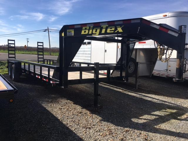 Preowned 2016 Big Tex 14GP-24 7x24 Equipment Trailer VIN59393