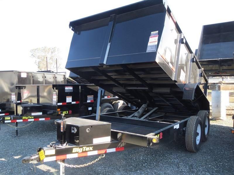 New 2017 Big Tex 12LX-12P3 7X12 Dump Trailer Vin:68765