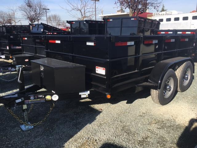 New 2018 Five Star DT258 6x10 10k Dump Trailer VIN:32636