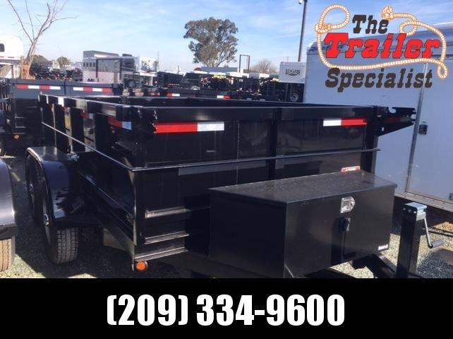 New 2018 Five Star DT258 6x10 10k Dump Trailer VIN:32484