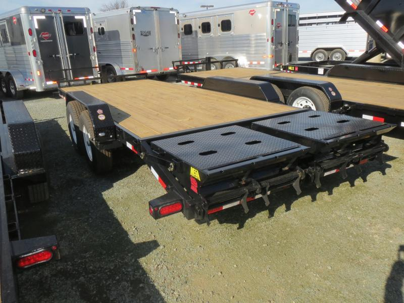 New 2018 Big Tex Trailers 14ET-20MR Equipment Trailer 7x20 14k VIN:18539