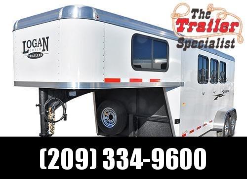 New 2018 Logan Coach 3H GN Crossfire Horse Trailer Vin05970