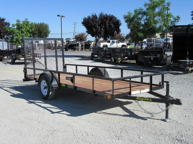 New 2017 Big Tex 30SA-14 5x14 Utility Trailer