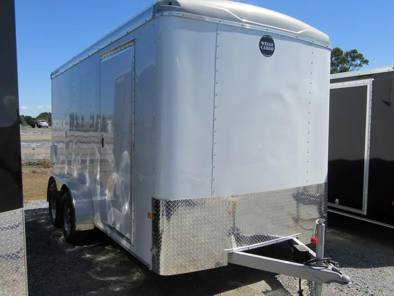 New 2017 Wells Cargo RF7x142 7x14 Enclosed Cargo Trailer VIN 40119