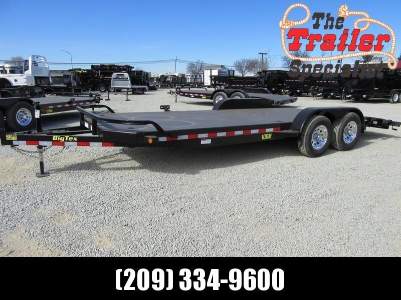 New 2018 Big Tex 10DM-20 7x20 10K GVW Car/Racing Trailer Vin11078