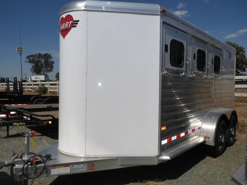 2015 Hart 3H MVP BP Horse Trailer VIN 51165