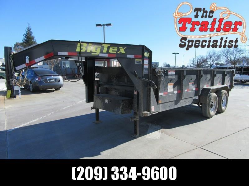 Preowned 2017 Big Tex 14GX-16 7x16 GN Dump Trailer Vin34403