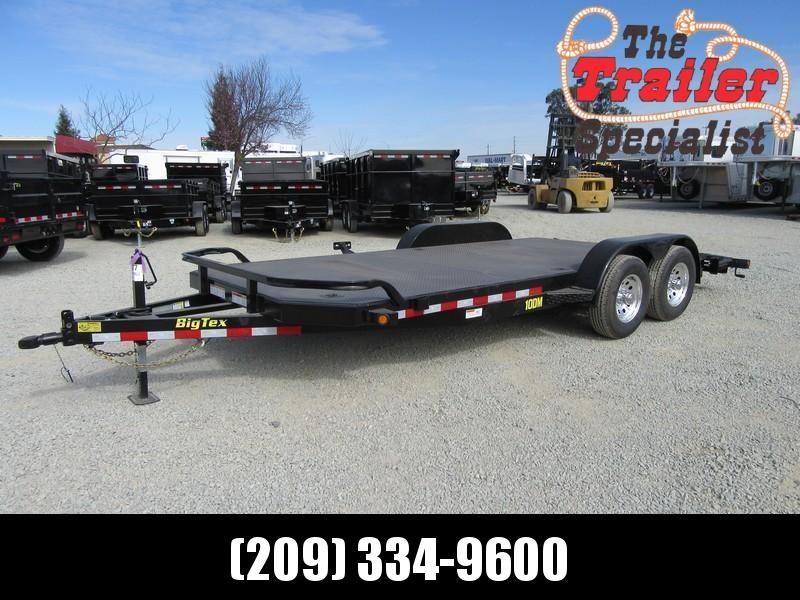 New 2018 Big Tex 10DM-18 7x18 10K Car / Racing Trailer Vin 11077