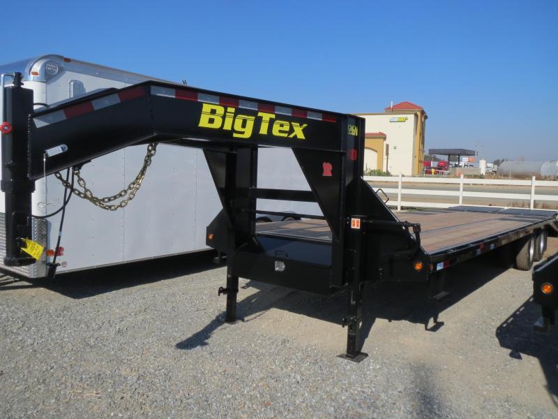 New 2018 Big Tex 22GN-25+5MR 25'+5' dovetail 23900 GVW GN Trailer Vin:82358