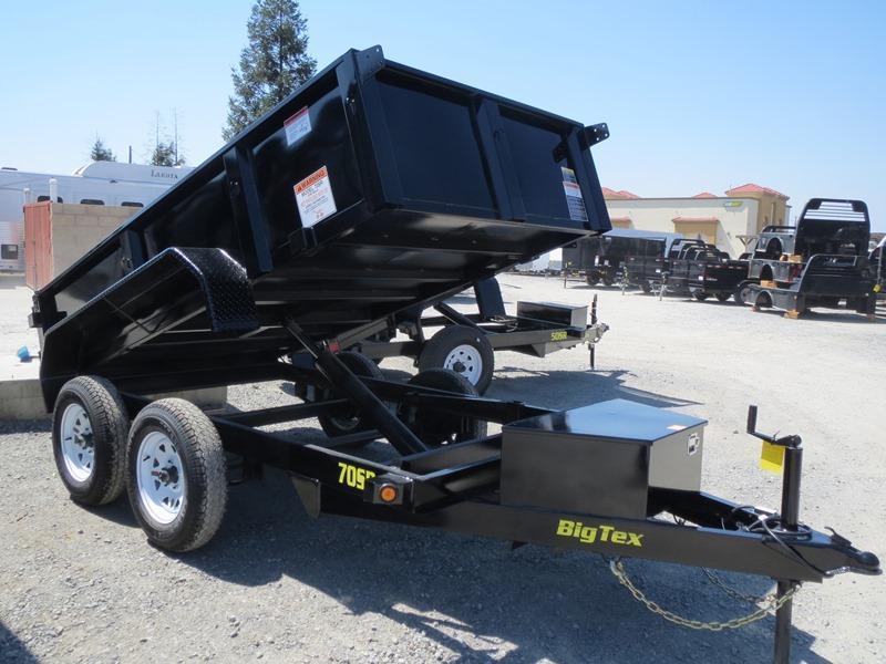 New 2018 Big Tex 70SR-10-5WDD 5x10 7K GVW Dump Trailer Vin:17434