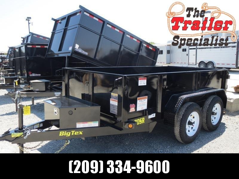 New 2018 Big Tex 70SR-10-5WDD 5x10 7K GVW Dump Trailer Vin:93651