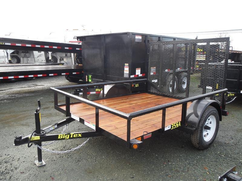 2016 Big Tex 35SA-08 Utility Trailer  VIN 47698