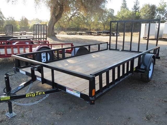 2016 Big Tex Trailers 35SA-14RSX 7x14 ATV Utility Trailer Vin 64717