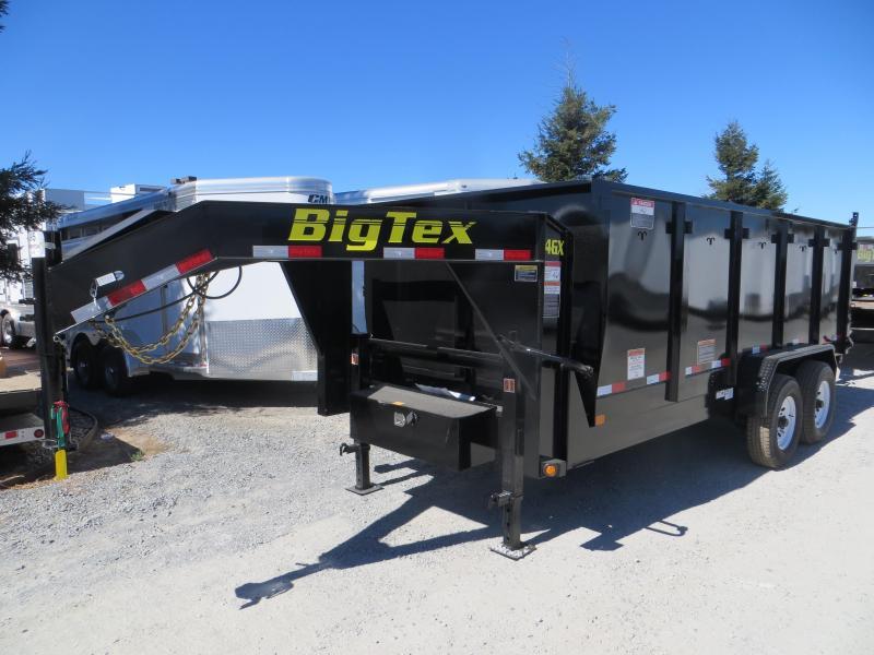 New 2017 Big Tex 14GX-16P4 7x14 14K 4' sides Dump Trailer Vin72330