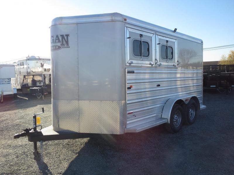 New 2016 Logan Razor 2H BP Horse Trailer VIN03956