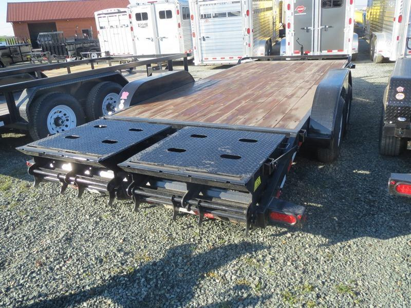 New 2087 Big Tex 10ET-18MR Equipment Trailer 7X18 10K GVW VIN 93163
