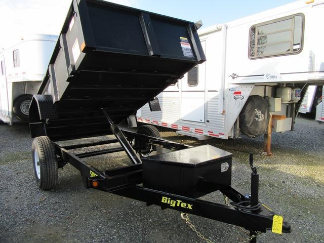 2017 Big Tex 50SR-10-5W 5x10 Dump Trailer Vin:32832