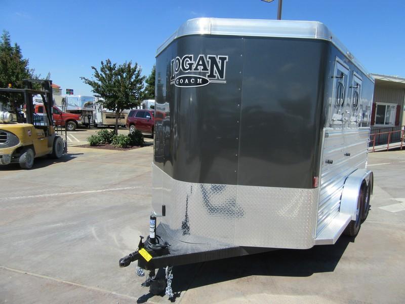 New 2017 Logan Coach Riot 2H BP Horse Trailer Vin 05336