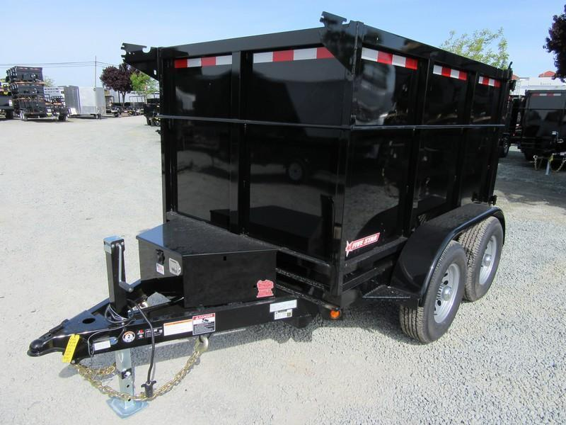 New 2017 Five Star DT292 D105x8 10K Dump Trailer 4'sides VIN32940