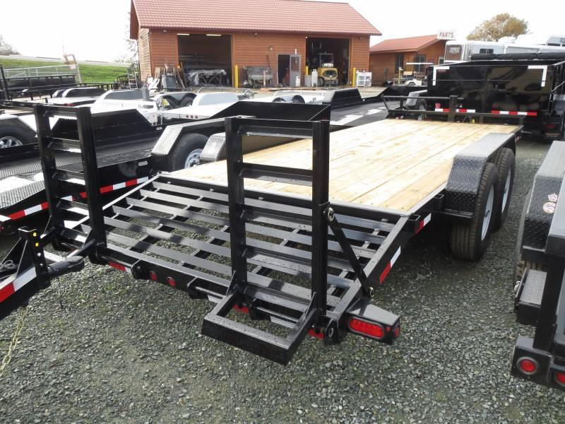 New 2017 Big Tex 14ET-20KR 14k 7x20 Equipment Trailer Vin81271