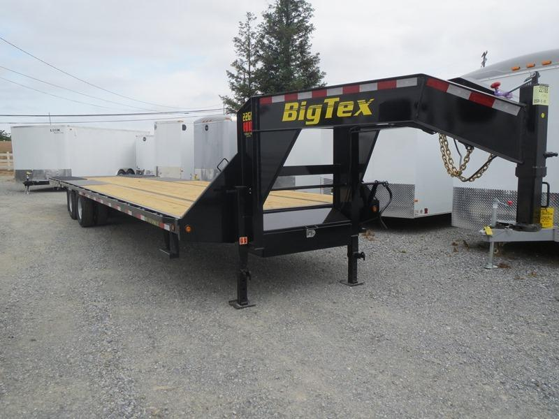 "2016 Big Tex Trailers 22GN-35HDT Equipment Trailer 102""x35' 22k VIN 86418"