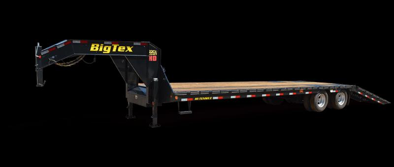 "New 2018 Big Tex 22GN-35HDT Equipment Trailer 102""x35' 22k VIN 95049"