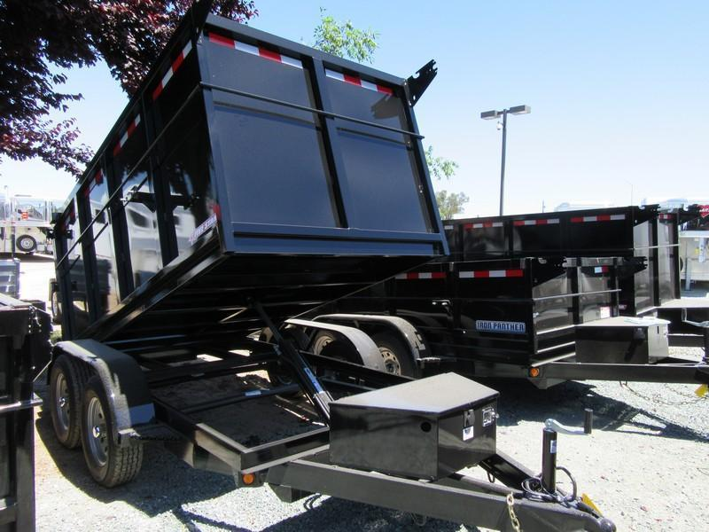 New 2018 Five Star DT098 5x10 7K GVW Dump Trailer VIN:32507