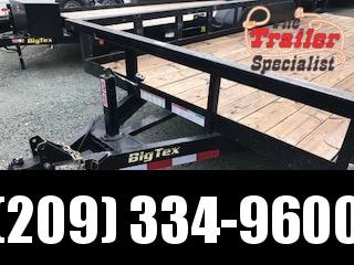 Preowned 2015 Big Tex 14PI-18 7x18 14K GVW Equipment Trailer Vin84444