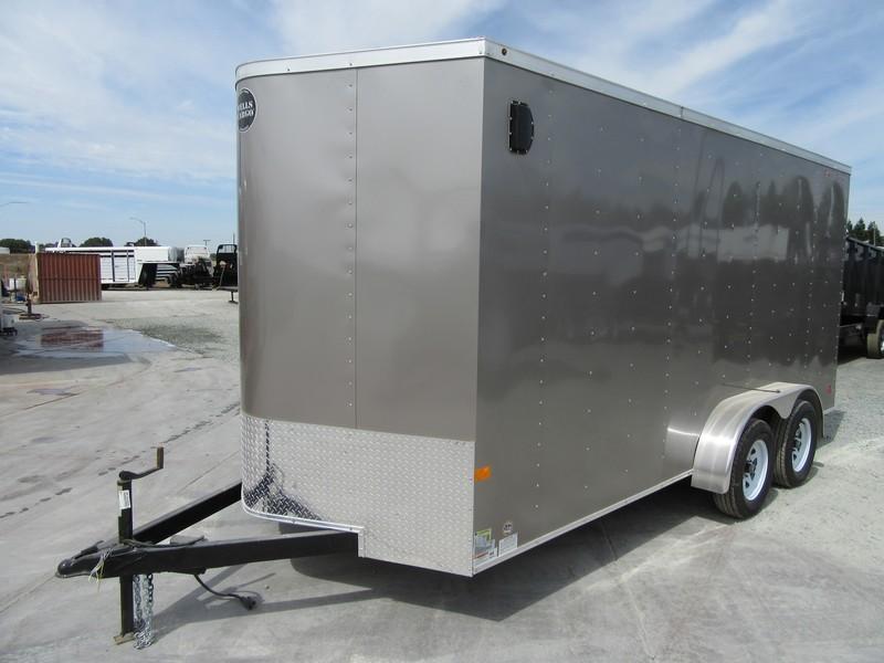 New 2017 Wells Cargo FT7162 7x16 Enclosed Cargo Trailer Vin44946