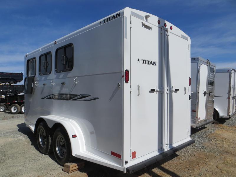 New 2016 Titan Avalanche II 3H BP Horse Trailer VIN75772