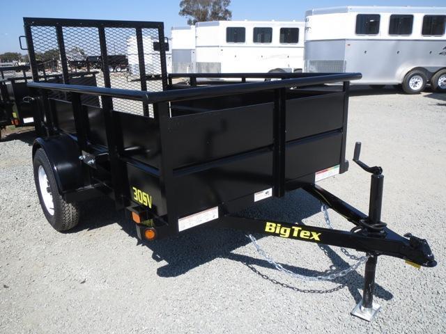 New 2018 Big Tex 30SV 5' wide Utility Trailer