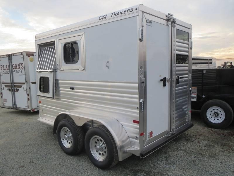 2016 CM Renegade 2H BP Horse Trailer VIN 19747