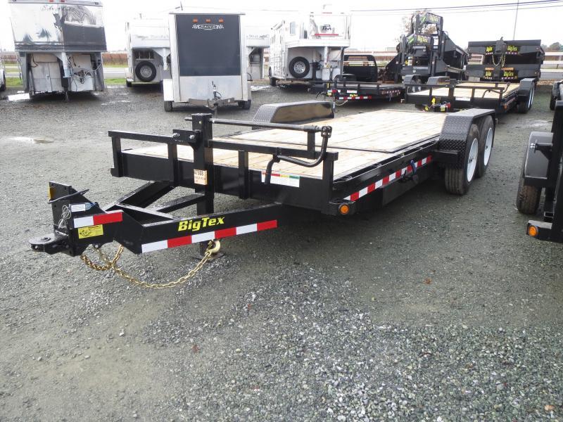 "New 2018 Big Tex Trailers 16TL-20 Equipment Trailer 81""X20' 16K VIN:12055"