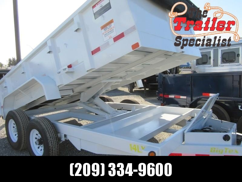 New 2018 Big Tex 14LX-14 14K GVW Dump Trailer VIN93705