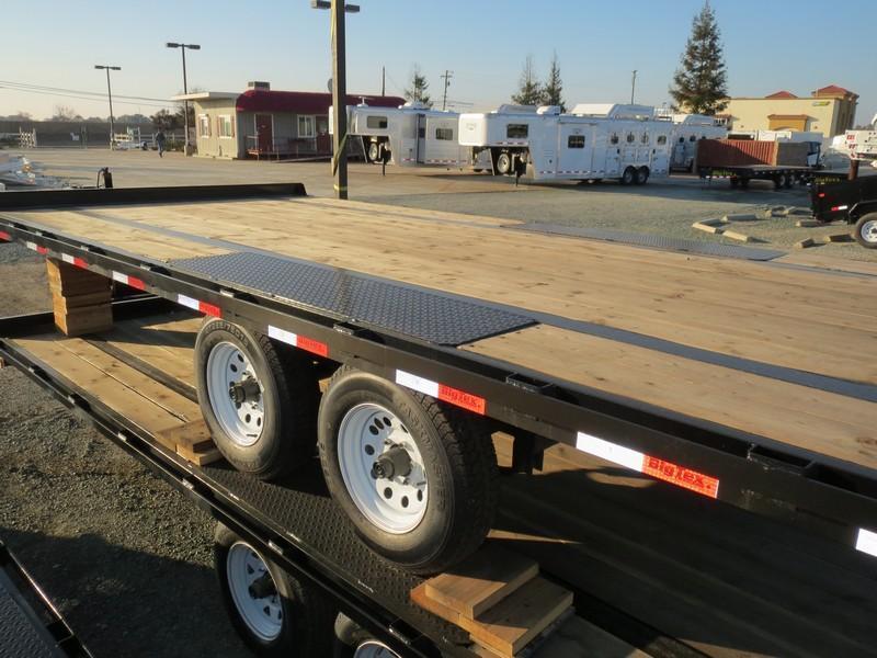 NEW 2017 Big Tex 10OA-18SIR Flatbed Trailer 8.5x18 VIN41810