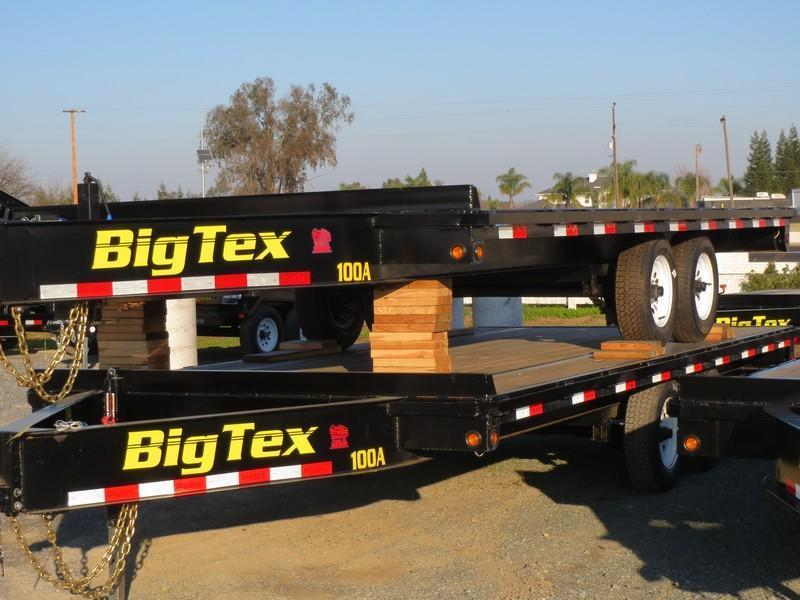 2017 Big Tex 10oa-18sir flatbed trailer