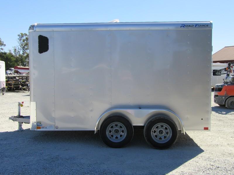 New 2018 Wells Cargo RF7x122 7x12 Enclosed Cargo Trailer Vin 59602
