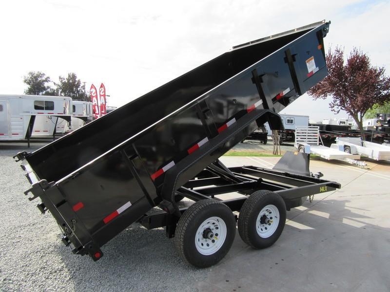 New 2017 Big Tex 14LX-14HJ 7x14 14K Dump Trailer